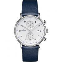 Herren Junghans FORM C Chronoscope Chronograph Watch 041/4775.00