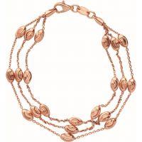 femme Links Of London Jewellery Essentials Beaded 3 Row Bracelet Large Watch 5010.3682
