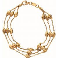femme Links Of London Jewellery Essentials Beaded 3 Row Bracelet Medium Watch 5010.3675
