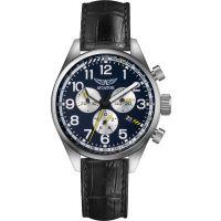 homme Aviator Airacobra P45 Chronograph Watch V.2.25.0.170.4