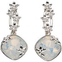Elements Dames Floral Drops Earrings Sterling Zilver E5354W