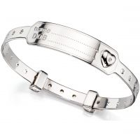 D For Diamond ID Expander Bangle JEWEL