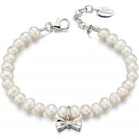 Kinder D For Diamant Sterlingsilber & Cultured Perle Armband