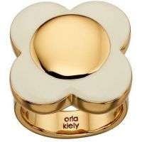 Ladies Orla Kiely Gold Plated Ring R3555-52