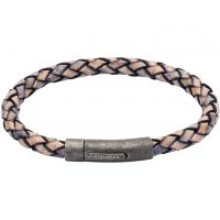 Biżuteria męska Unique & Co & Leather Bracelet B322AP/21CM