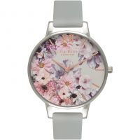 Ladies Olivia Burton Vegan Friendly Floral Print Watch