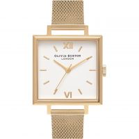 Ladies Olivia Burton Big Dial Square Dials Watch