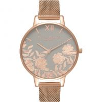 Ladies Olivia Burton Lace Detail Watch