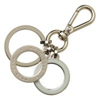 Hugo Boss Pens Gold Plated Key Ring Essential Off-White HAK707G