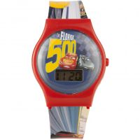 Childrens Character Disney Cars 3 Gift Set Watch