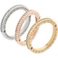 Femmes Michael Kors Multi colour gold Taille J Emblématique Bague