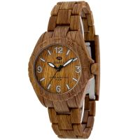 Marea Wood Look Damklocka Brun 35297/5