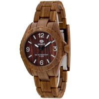 Marea Wood Look Damklocka Brun 35297/6