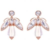 Ted Baker Dames Geenn Geometric Bee Earring Verguld Rose Goud TBJ1622-24-02