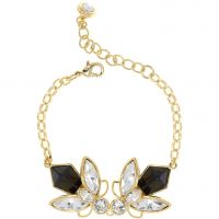 Ladies Ted Baker Gold Plated Genfer Geometric Bee Bracelet