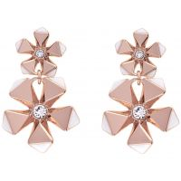 femme Karen Millen Jewellery Geo Flower Earring Watch KMJ1079-24-108
