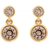 femme Karen Millen Jewellery Crystal Dot Earring Watch KMJ879-31-29
