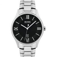 Hugo Boss Governor Herrklocka Silver 1513488
