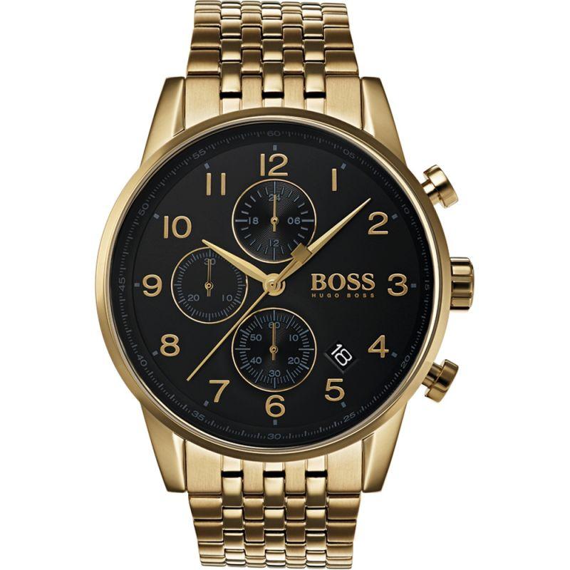 Herren Hugo Boss Navigator Chronograph Watch 1513531