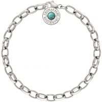 Ladies Thomas Sabo Sterling Silver Summer Charm Bracelet 19cm
