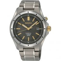 Mens Seiko Titanium Kinetic Watch SKA765P1