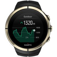Suunto Spartan Ultra Bluetooth GPS Gold Special Edition Unisexkronograf Svart SS023303000