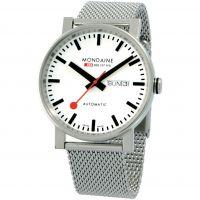 Herren Mondaine Schweizer Railways Evo Big Automatik Uhren