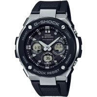 Mens Casio G-Steel Midsize Alarm Chronograph Radio Controlled Watch