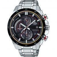 Mens Casio Edifice 3D Dial Chronograph Solar Powered Watch
