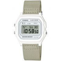 Unisex Casio Classic Collection Cloth Alarm Chronograph Watch