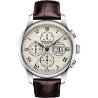 Tissot Le Locle Herenchronograaf Bruin T0064141626300