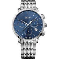 Herren Hugo Boss Schweizer hergestellt Slim Chronograf Uhren