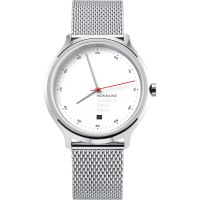 Unisex Mondaine Helvetica regulär Spiekermann Edition Uhren