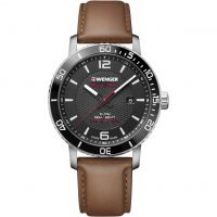 Herren Wenger Roadster Black Night Watch 011841105