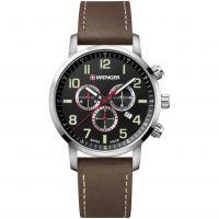 Herren Wenger Attitude Chrono Chronograph Watch 011543103