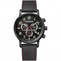 homme Wenger Attitude Chrono Chronograph Watch 011543104