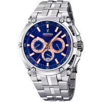 Herren Festina Chronobike 2017 Chronograph Watch F20327/4