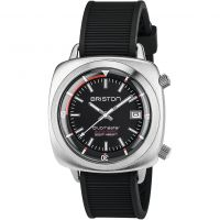 Herren Briston Clubmaster Steel Diver Watch 17642.S.D.1.RB