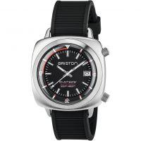 homme Briston Clubmaster Steel Diver Watch 17642.S.D.1.RB