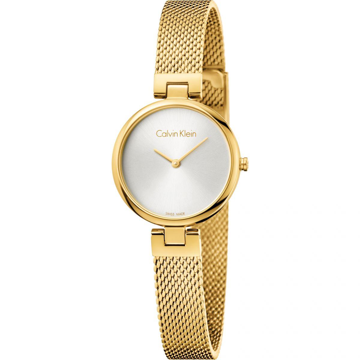 Amato Calvin Klein Authentic | Orologio da Donna Oro K8G23526 | IT  NA74