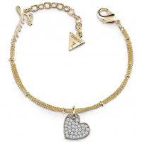 Ladies Guess Gold Plated My Sweetie Bracelet