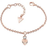 Ladies Guess Rose Gold Plated Guessy Bracelet UBB82012-L