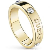 femme Guess Jewellery Hoops I Did It Again Ring Size N Watch UBR84029-54