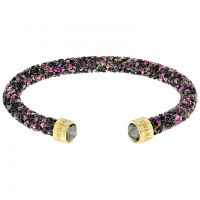 Ladies Swarovski Rose Gold Plated Crystaldust Bracelet
