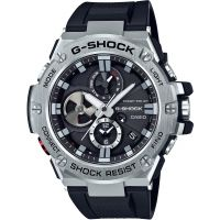 homme Casio G-Steel Bluetooth Triple Connect Chronograph Radio Controlled Tough Solar Watch GST-B100-1AER