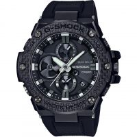 homme Casio G-Steel Bluetooth Triple Connect Carbon Chronograph Radio Controlled Tough Solar Watch GST-B100X-1AER