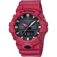 homme Casio G-Shock Alarm Chronograph Watch GA-800-4AER