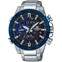 Casio Edifice Bluetooth Triple Connect Herenchronograaf Zilver EQB-800DB-1AER