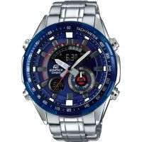 Mens Casio Edifice Racing Blue Series Alarm Chronograph Watch