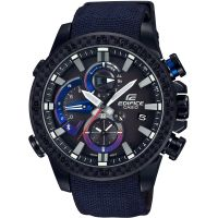 Mens Casio Edifice Bluetooth Triple Connect Toro Rosso Special Edition Alarm Chronograph Watch